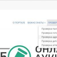 На портале услуг ГРС e.srs.kg, запущена новая функция «Проверка адреса регистрации»