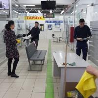 В ГП «Инфоком» и его структурных подразделениях стартовал трехмесячник по очистке и озеленению территорий
