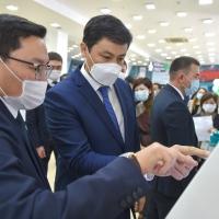 На проспекте Жибек Жолу состоялось открытие нового ЦОН