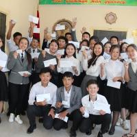 День защиты детей: 36 воспитанников дома-интерната получили бесплатно свои первые паспорта