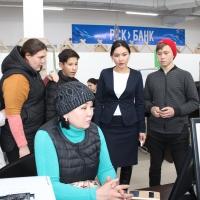 ЦОН посетили выпускники детских домов