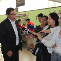 Бишкек мэриясынын жана ММК өкүлдөрү КТБдагы жаңылануулар менен таанышышты