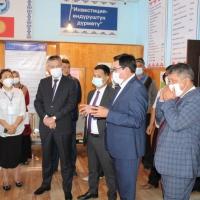 Председатель ГРС и руководители Жалал-Абадской области лично убедились во внедрении цифровых технологий в регионах