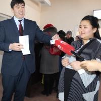 В Кыргызстане выдан миллионный биометрический паспорт