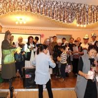 Благотворительность. Сотрудники ГП «Инфоком» и ЦОН-3 оказали материальную поддержку в проведении театрализованного конкурса с участием пожилых и лиц с ограниченными возможностями здоровья.