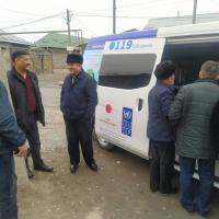 В крупные города республики мобильные ЦОНы прибудут 16-17 марта для сбора биометрики