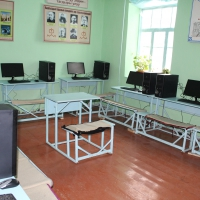 ГП «Инфоком» передало 10 персональных компьютеров в комплекте  школьникам села Чалк-Ойдо Узгенского района Ошской области