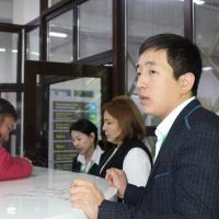 Наша команда: Азиз Асангалиев – оператор ЦОН-2 г.Бишкек