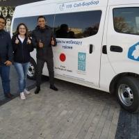 Биздин команда: Турусбеков Раис - Бишкек шаарынын КТБ-1инин көчмө документтештирүү боюнча мобилдүү тобунун улук оператору